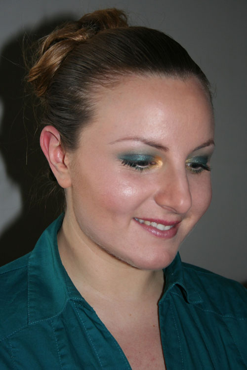 tutorial trucco smoky eyes verde