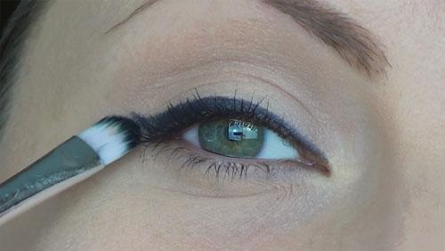 sistemare matita occhi
