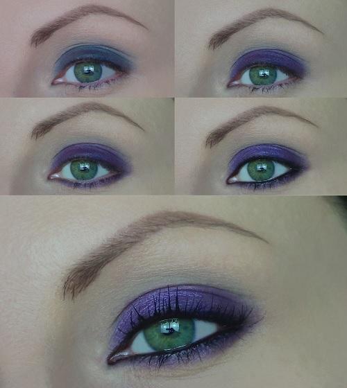 smokey eyes semplice occhi verdi tutorial