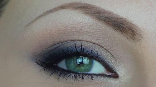 trucco occhi castani