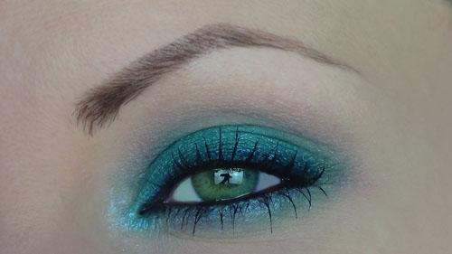 makeup verde smeraldo