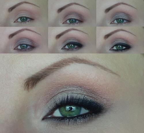 Trucco per occhi verdi marroni che valorizza le sfumature - Mobile per trucco ...