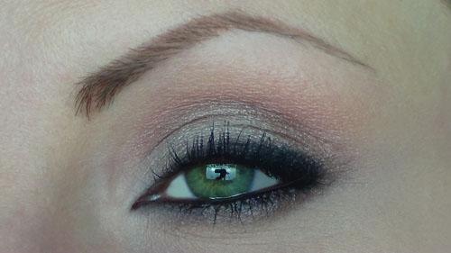 trucco occhi verdi marroni
